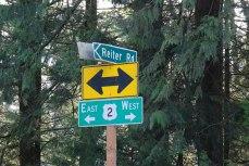 Highway 2 Reiter Road Mile Marker 30