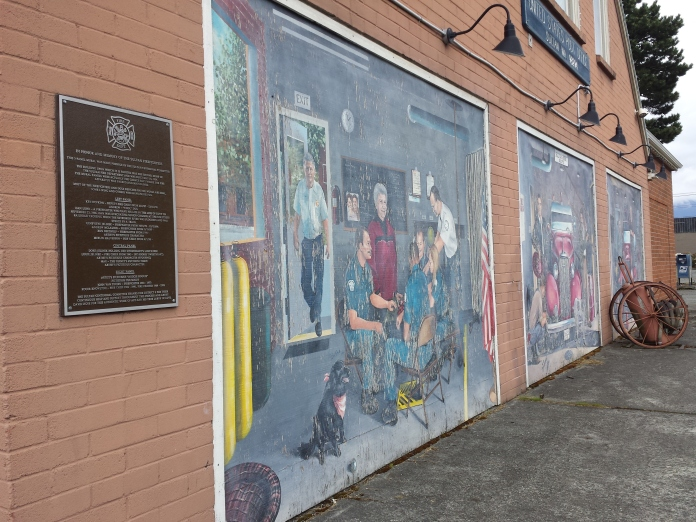 Firefighters Mural in need!