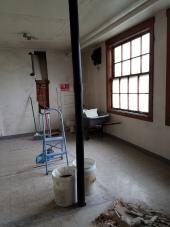 Interior Restrooms Prepped