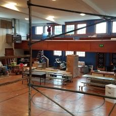 The Gallery is being refurbished; Darrel Jones leading the work