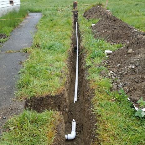Waterline Trench