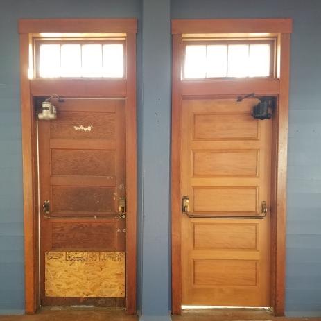 Guess the new door...