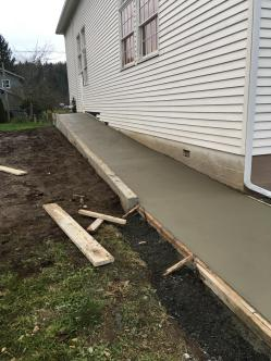 Poured Ramp