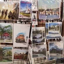 Frank Linth and David Hose prints at Ben Franklin store